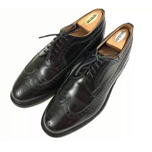 CHURCHS Men's Black Oxford Cordovan Leather Dress